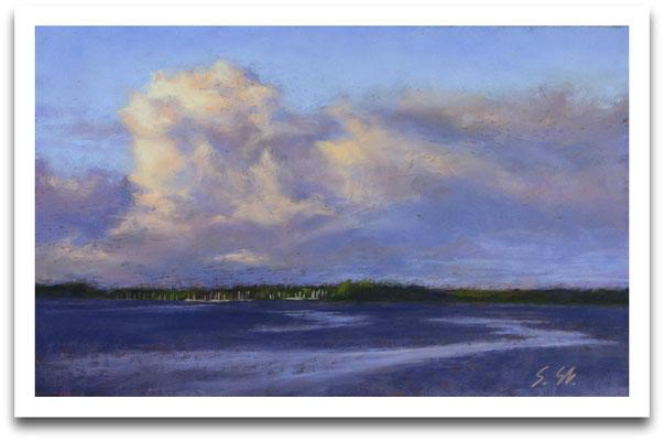 Das Ufer gegenüber, 22 x 35 cm