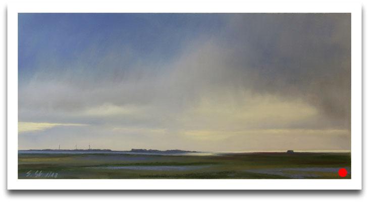 Die letzten Schauer, 20 x 40 cm