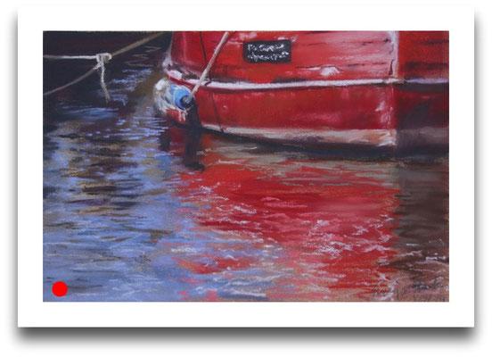 Roter Rumpf, 16 x 24 cm