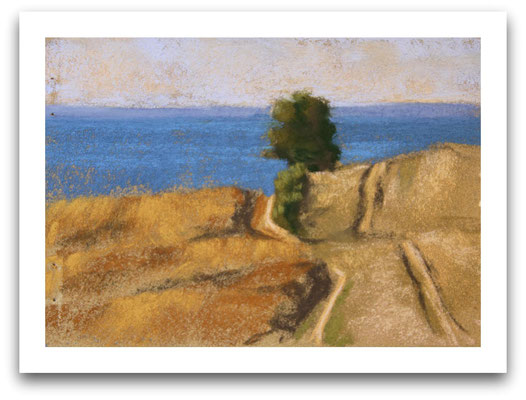 Blick zur Ostsee, Skizze