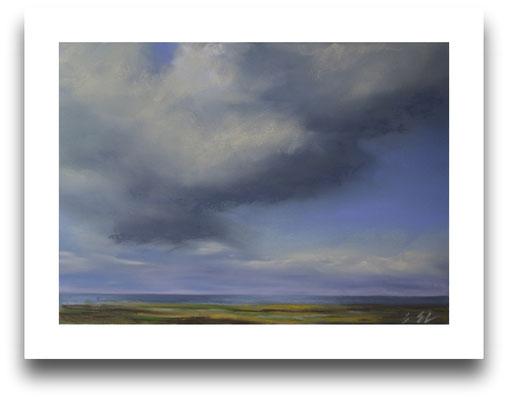 Schauerwolken, 13 x 18 cm