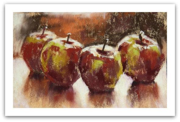 Äpfel 2, Skizze