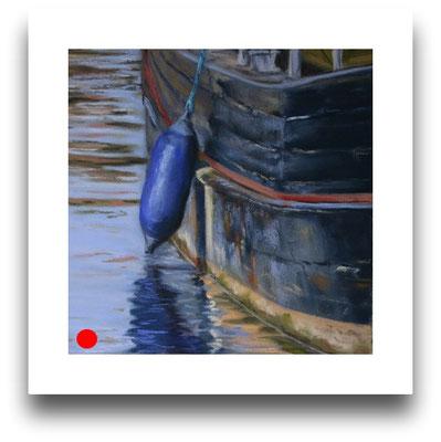 Im Hafen, 15 x 15 cm