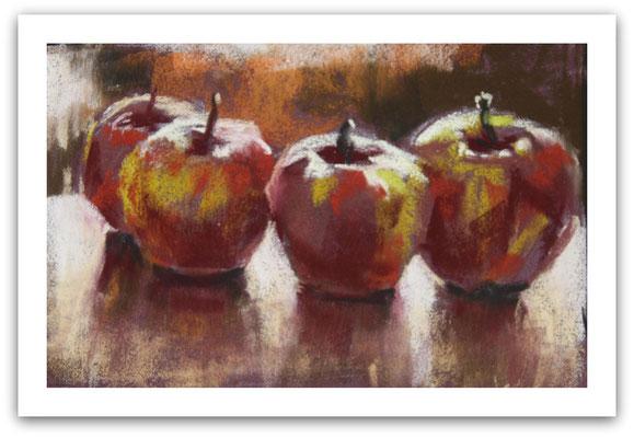 Äpfel 1, Skizze
