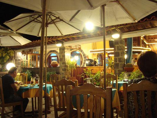 "Restaurant ""O Farolin"". Santa Maria. Insel Sal. (C) Bubig & Neumann Kreativ-Verlag GbR."