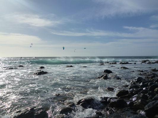 Hotspot für Kiter. Ponta Preta, Insel Sal. (C) Bubig & Neumann Kreativ-Verlag GbR.