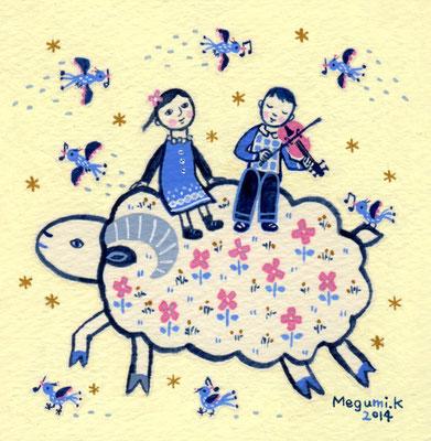 """ひつじの上のコンサート """"The concert on the sheep"""""""
