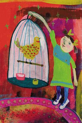 """わたしのとり """"My bird"""" (Girl)"""