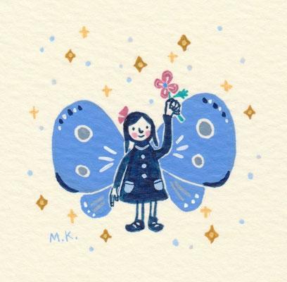 """小さなちょうちょ """"A little butterfly"""""""