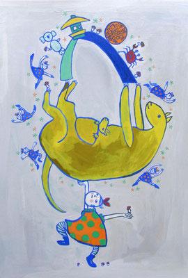 """ダンス公演のポスターのため・2 """"For the poster of the dance show・2 """""""
