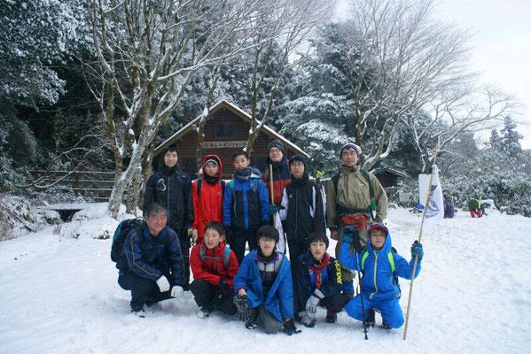 ボーイ隊雪山登山
