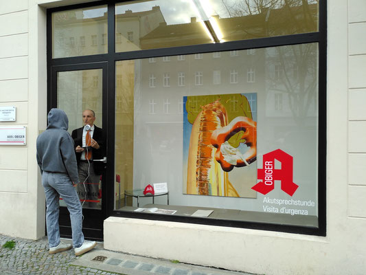 Akutsprechstunde: Maja Rohwetter. In Betrieb am 16. April 2021. Moderation: Stefano Gualdi