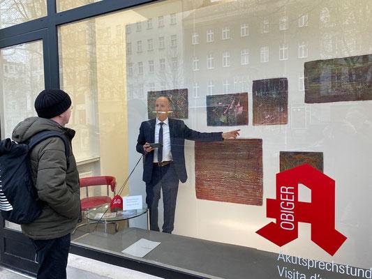 Akutsprechstunde: Enrico Niemann In Betrieb am 30. April 2021. Moderation: Stefano Gualdi