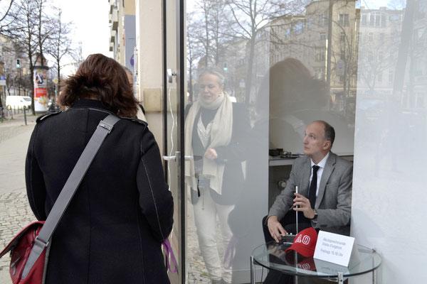 Akutsprechstunde: Matthias Moravek In Betrieb am 5. März 2021 / Moderation: Stefano Gualdi