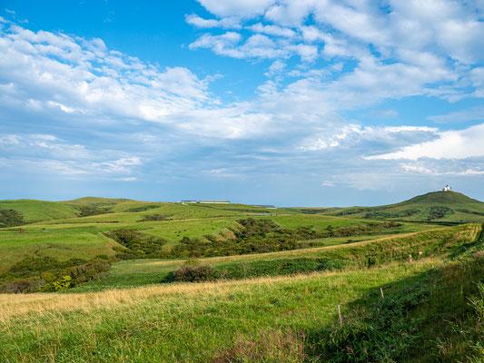 宗谷丘陵は雄大な景観