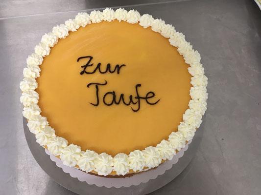 Kuchen für Taufen, Hochzeiten und Geburtstage