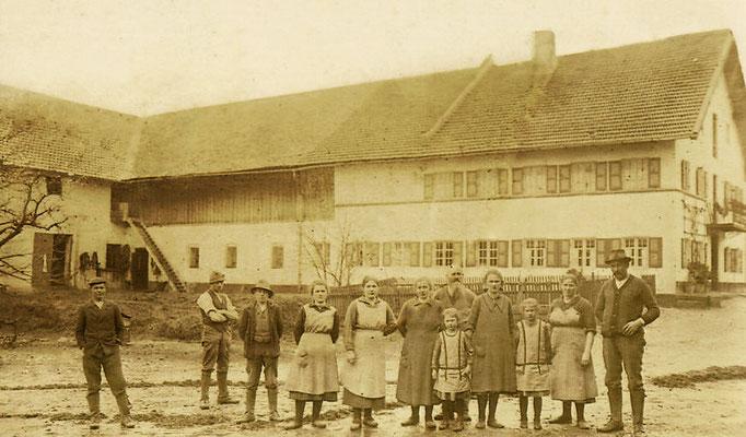 Familie Huber 1927