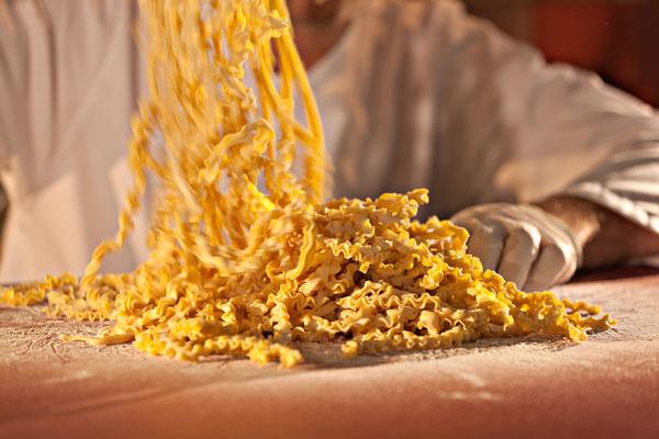handgemachte Nudeln und Pasta