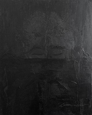 'faceted' acrylic on canvas. 40x50cm
