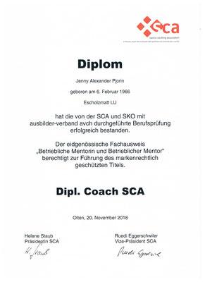 Dipl. Coach SCA