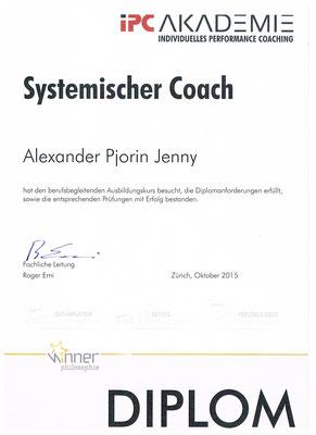 Dipl. Systemischer Coach IPC
