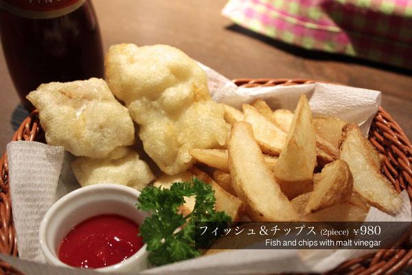 フィッシュアンドチップス Fish and chips