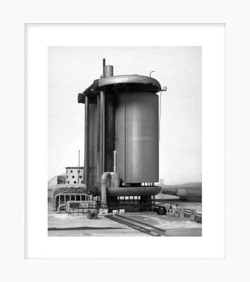 """Ustensiles: Duplicateur """"Métro"""", 24 X 30 cm sous passe de 36 X 42 cm, 2019"""