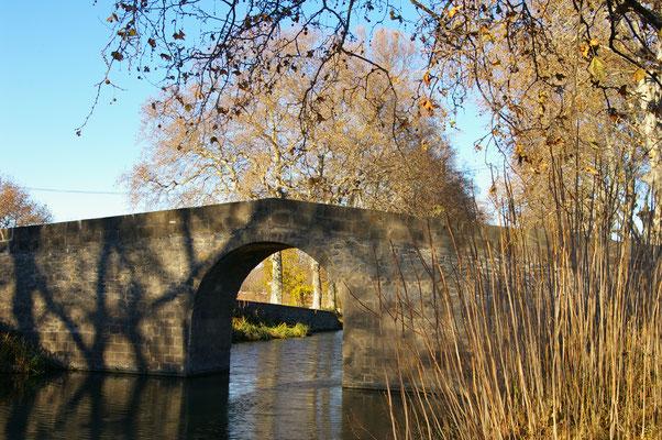 le pont de Caylus à Portiragnes