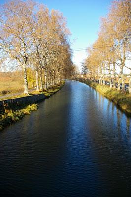 le Canal majestueux même en hiver !