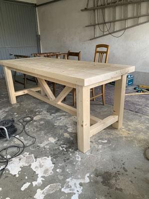 Ist n Tisch geworden