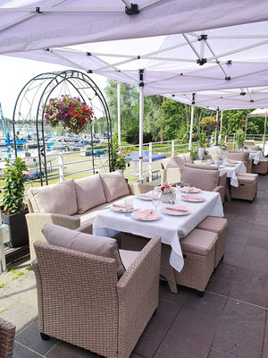 Eventlocation mit Terrasse