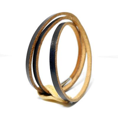 Bracelet cuir 3 tours