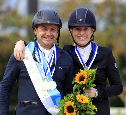 Kalin Nedeltchev war in den Youngster-Championaten der 4 und 5-jährigen Springpferde nicht zu schlagen!  copyright: Bauschmann