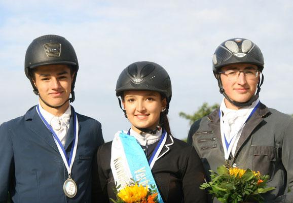 Verbandsmeister Springen Junioren, copyright: Foto Moog, Sontra