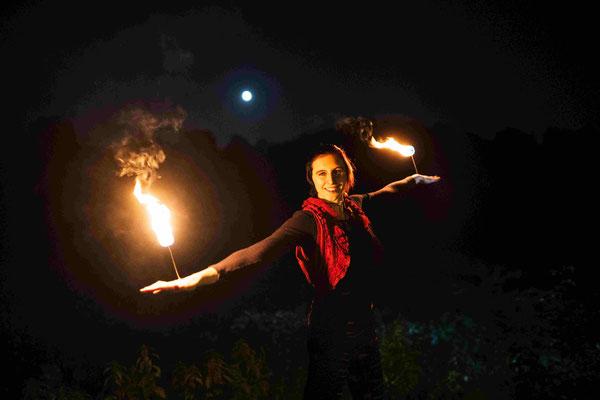 Tanz mit dem Feuer | Foto: Daniel Tetzel