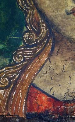 Russische Ikone, Detail