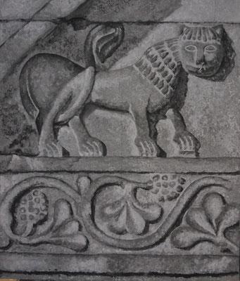 Antikes Relief, 90 x 80 cm