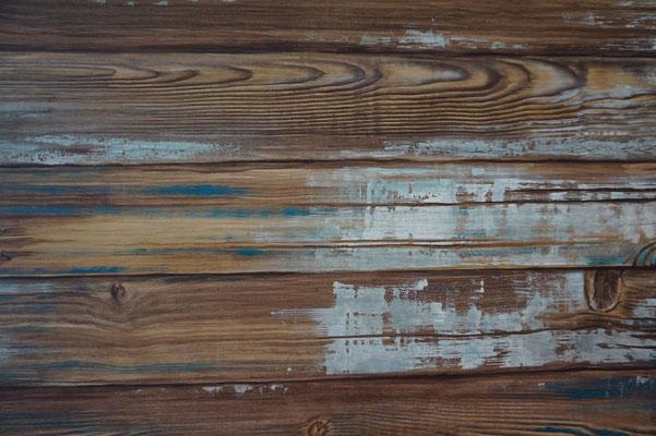 Holzimitation auf Sperrholzplatte, 80 x 100cm