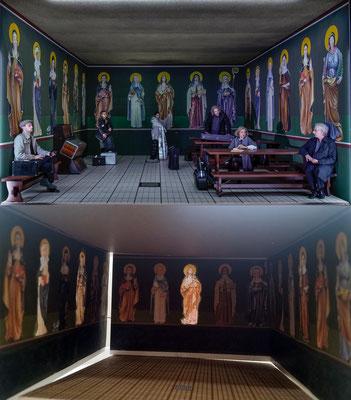 Bühne und Modell im Vergleich, Umsetzung der Figuren in Zusammenarbeit mit Rica Mende