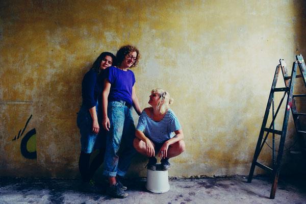 Frollein Dreizack (Ulli, Anne und ich)