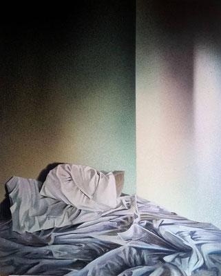 Acryl auf Leinen 1,10x1,35m nach einer Fotografie von Todd Hido