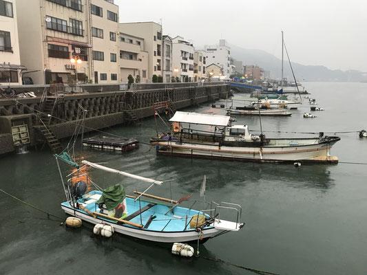 尾道港の様子です。