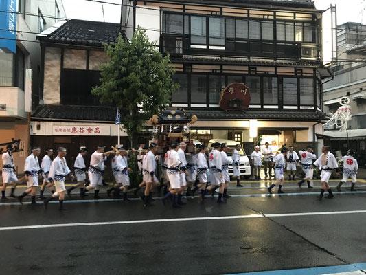 尾道のお祭りです。