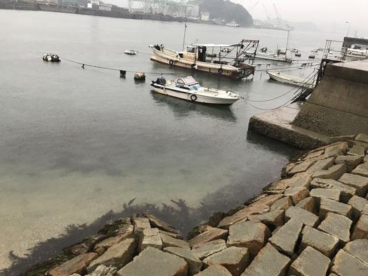 尾道港です。