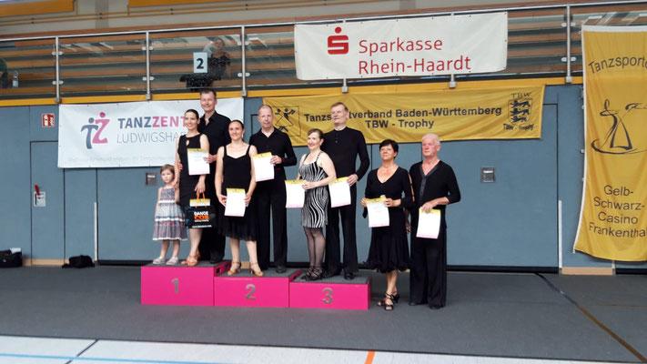 Tobias und Sandra Rackebrandt , Platz 2