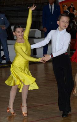 Alexander Skrzypek und Andrea Ligia Costeniuc , Platz 2