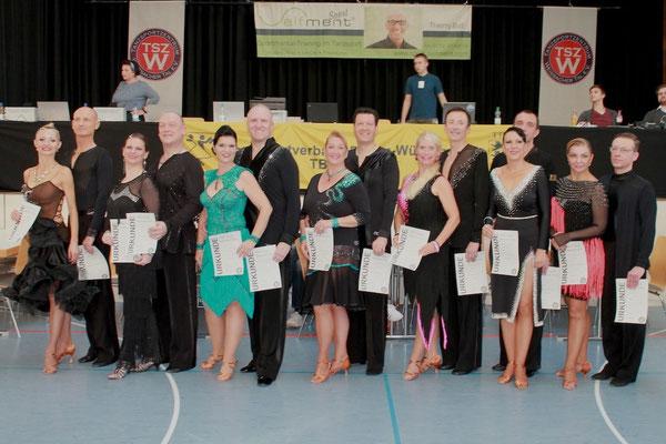 Marc Watgen und Vera Prediger; Platz 5, Sen. IIB Latein