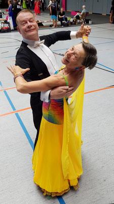 Peter Bischof und Roswitha Paulsen , Platz 6
