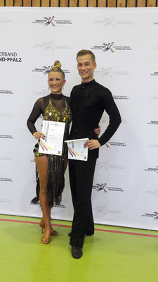 Daniela Paul und Vadim Nilov