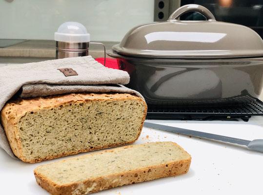 So sieht mein Brot von innen aus ♥ Saftig innen und knusprig außen...